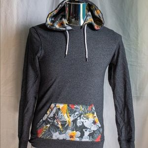 On The Byas grey pullover hoodie